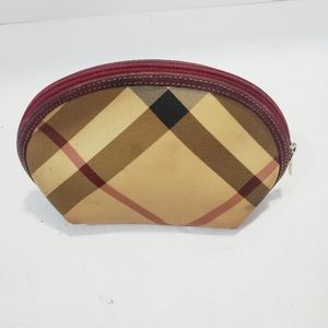 BURBERRY Authentic Small cosmetic pouch used